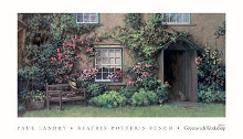 Beatrix Potter's Bench poster print by Paul Landry
