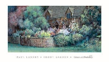 Front Garden poster print by Paul Landry