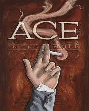 Ace poster print by Darrin Hoover