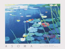 Lily Pond poster print