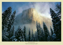 Clearing Storm, El Capitan poster print by Galen Rowell