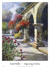 Imposing Arches poster print by Kent Wallis