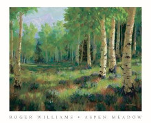 Aspen Meadow poster print by Roger Williams