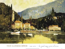 Como Vista poster print by Ted Goerschner
