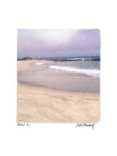 Beach #1 poster print by Judy Mandolf