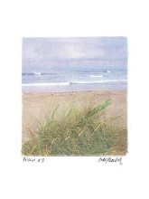 Beach #3 poster print by Judy Mandolf