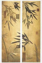 Bamboo Impressions II poster print by Don Li-Leger