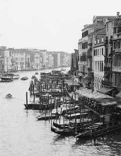 Array Of Boats, Venice poster print