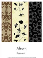 Baroque I poster print by  Ahava