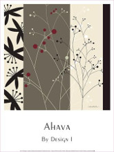 By Design I poster print by  Ahava