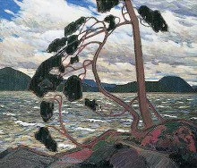 West Wind poster print by Tom Thomson