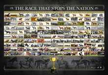 The Race that Stops the Nation poster print