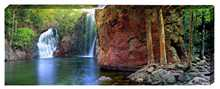 Florence Falls Litchfield National Park ... poster print