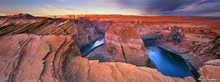 Horseshoe Bend Colorado River Arizona US... poster print