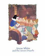 Snow White and the Seven Dwarfs poster print by  Disney