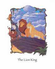 The Lion King poster print by  Disney