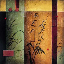 Bamboo Concerto II (Gic) poster print by Don Li-Leger