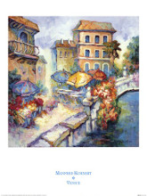 Venice Canal poster print by Manfred Kuhnert