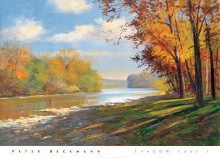 Shadow Lake I poster print by  Beckmann