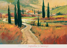 September In Tuscany I poster print by  Jackson