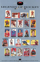 Legends of Hockey poster print by  Anonymous