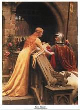 God Speed poster print by Edmund Blair Leighton