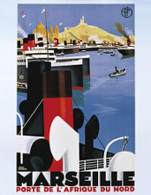 Marseille poster print by  Unknown