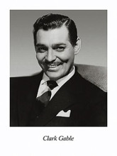 Clark Gable poster print by  Unknown