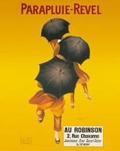 Parapluie-Revel poster print by  Unknown