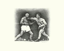 Rocky Marciano poster print by  Unknown