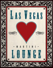 Martini Lounge poster print by  Unknown