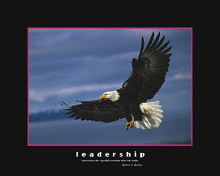Leadership poster print by  Motivational