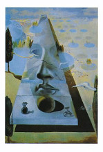 Apparition of the Face of Aphrodite poster print by Salvador Dali
