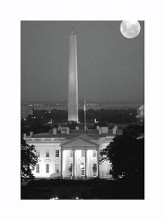 Washington Dc Bandw poster print by  Unknown