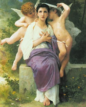 Awakening Heart poster print by William Adolphe Bouguereau