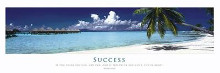 Inspirational - Success poster print by  Motivational