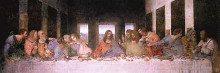 Last Supper poster print by Leonardo da Vinci