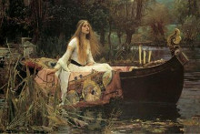 Lady Of Shalott poster print by John William Waterhouse