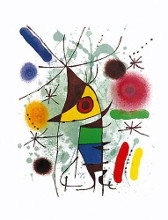 The Singing Fish (Chanteur) poster print by Joan Miro