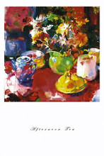 Afternoon Tea poster print by Peter Graham