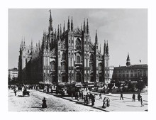 Milan-Duomo poster print by  Unknown