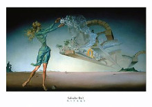 Mirage poster print by Salvador Dali