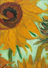 Sunflowers (Detail) poster print by Vincent van Gogh