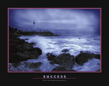 Success poster print by  Motivational