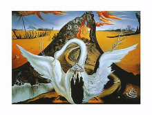 Bacchanale poster print by Salvador Dali