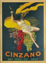 Cinzano Brut poster print by  Unknown