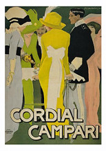 Cordial Campari poster print by  Unknown