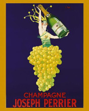 Champagne Joseph Perrier poster print by  Unknown