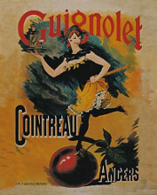 Guignolet Cointreau poster print by  Unknown