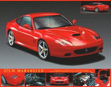 Ferrari 575 poster print by  Unknown